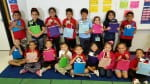 1st graders at Oleson Elementary School in Houston, Texas