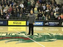 Former Green Bay women's basketball player Lavessa Glover.