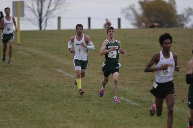 Erik Johnson running