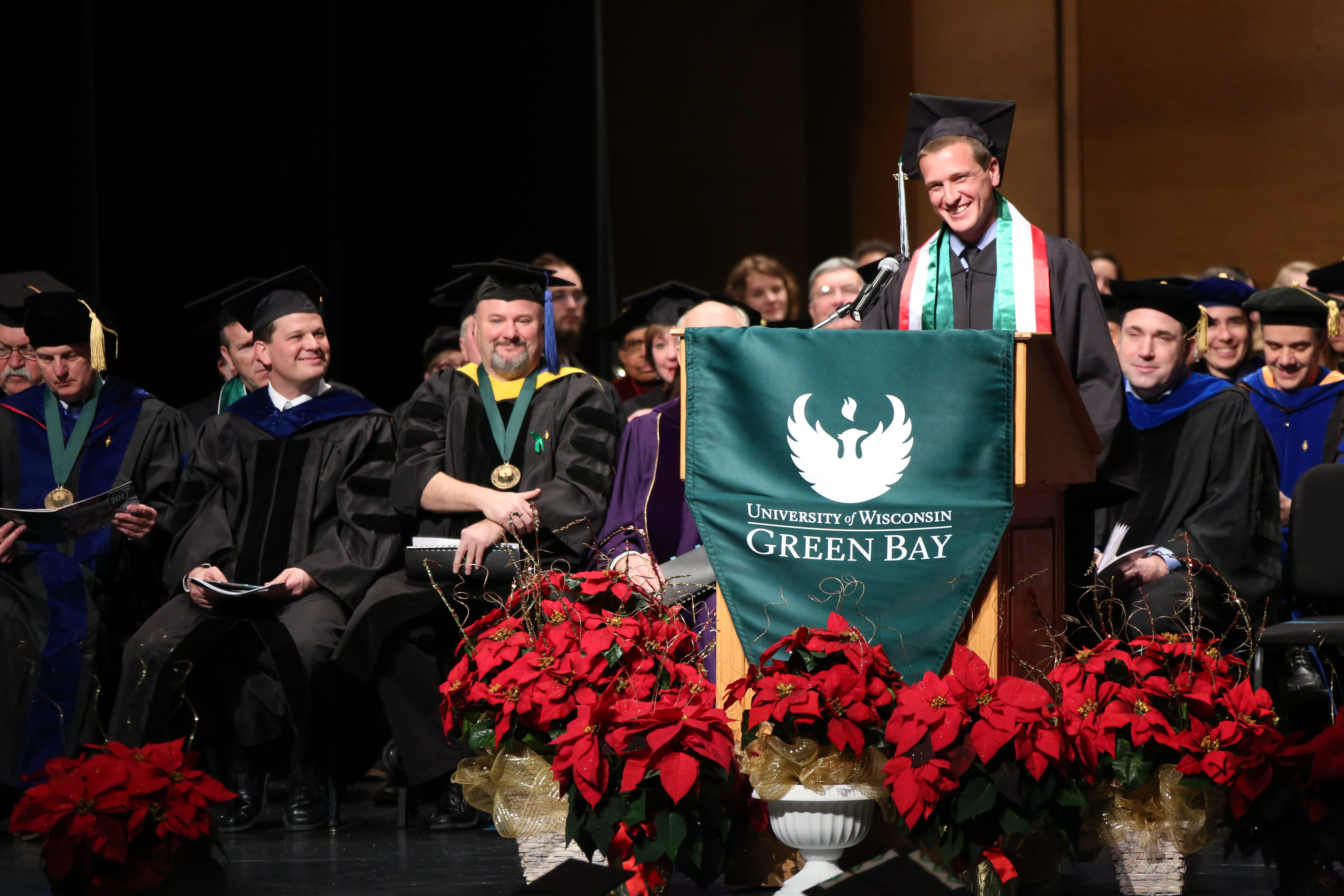 Riley Garbe's commencement address