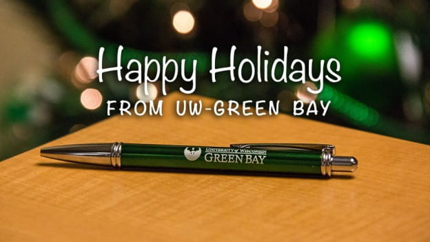 Happy Holidays from UW-Green Bay