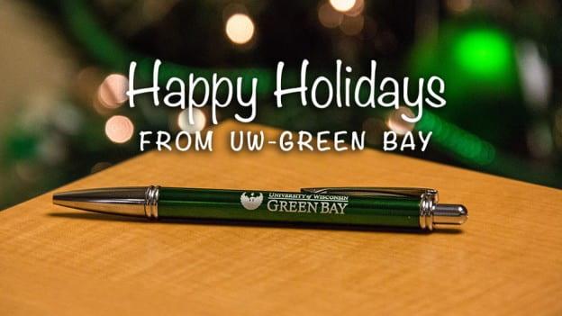 Happy Holidays from UW-Green Bay