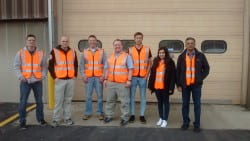 UWGB Electrical Engineering Technology students tour PCMC