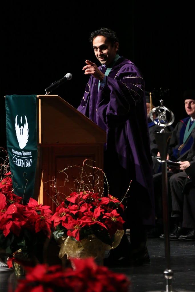 Prof. Regan Gurung December 2017 Commencement Speaker