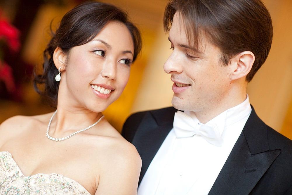 Piano duo portrait: Michael Rector and Sylvia Hong