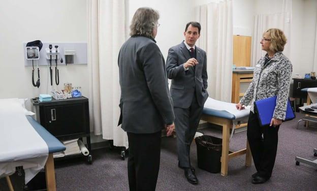 Governor Scott Walker Visit