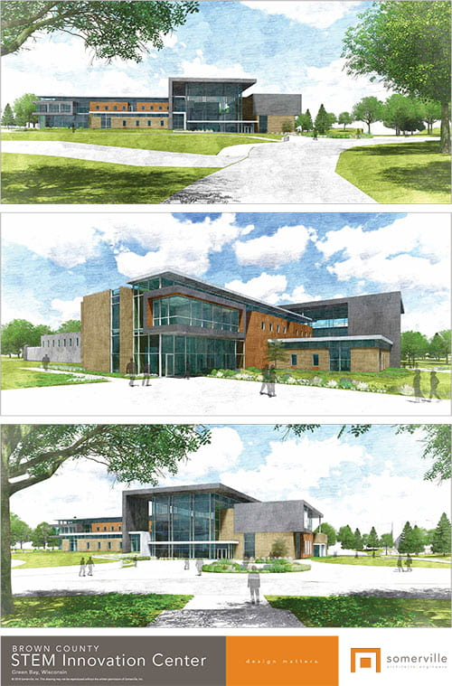 Brown County STEM Innovation Center Rendering