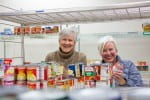 Suzan Schober and Lise Lotte Gammeltoft volunteering in CK One