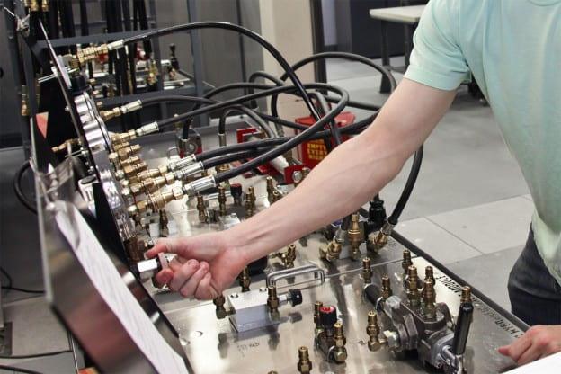 Engineering control panel