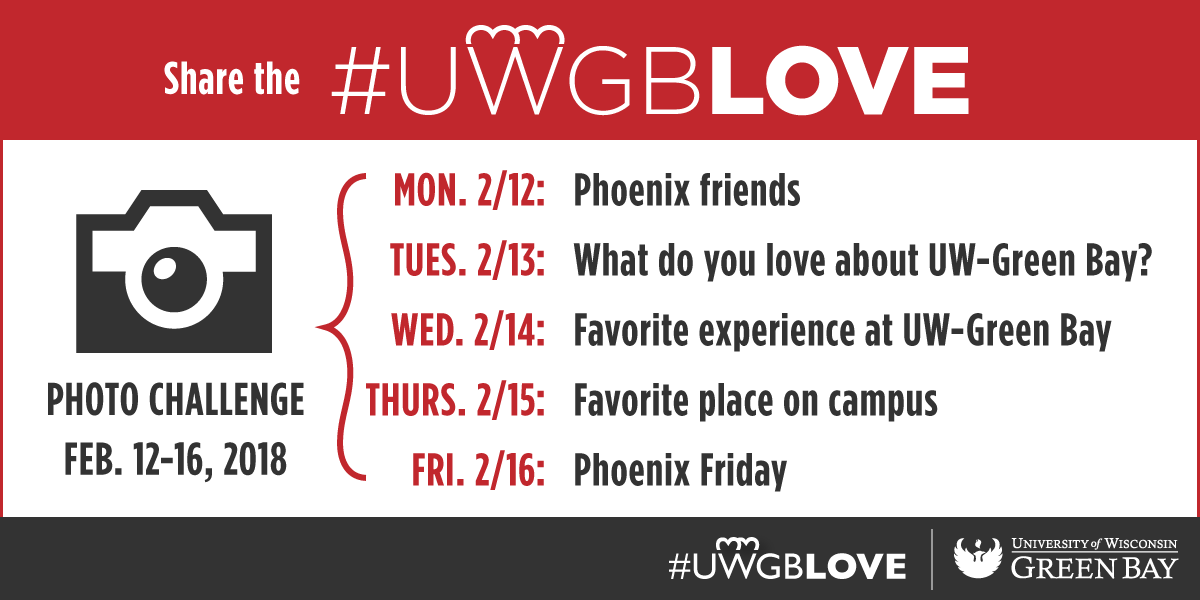 Share the #UWGBLove