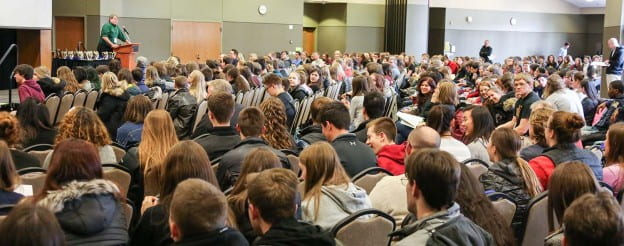 Academic Competition Crowd