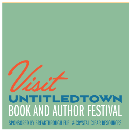 UntitledTown Book and Author Festival Green Bay, WI April 19-22, 2018