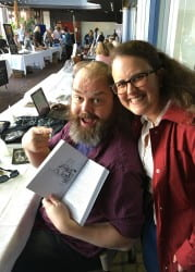 Mike Eserkaln and Kimberly Vlies at UntitledTown 2018