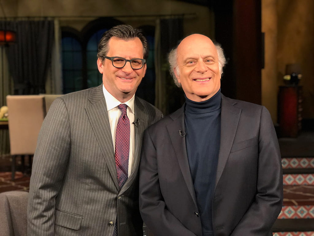 Kaye joins Ben Mankiewicz, for a national television broadcast on TCM