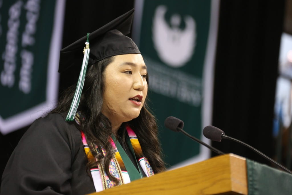 Bao Niah Xiong's commencement address