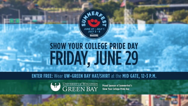 Summerfest Show Your College Pride Day Friday June 29, 2018
