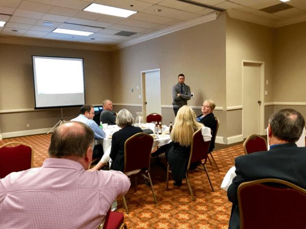 Associate Prof. Aaron Weinschenk speaks at Urban Policy Forum