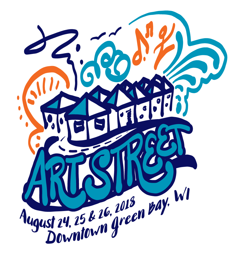 Winning 2018 Artstreet Logo Designed by Kimberly Vlies