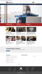 UW-Manitowoc website screenshot