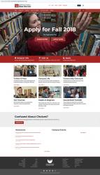 UW-Marinette website screenshot