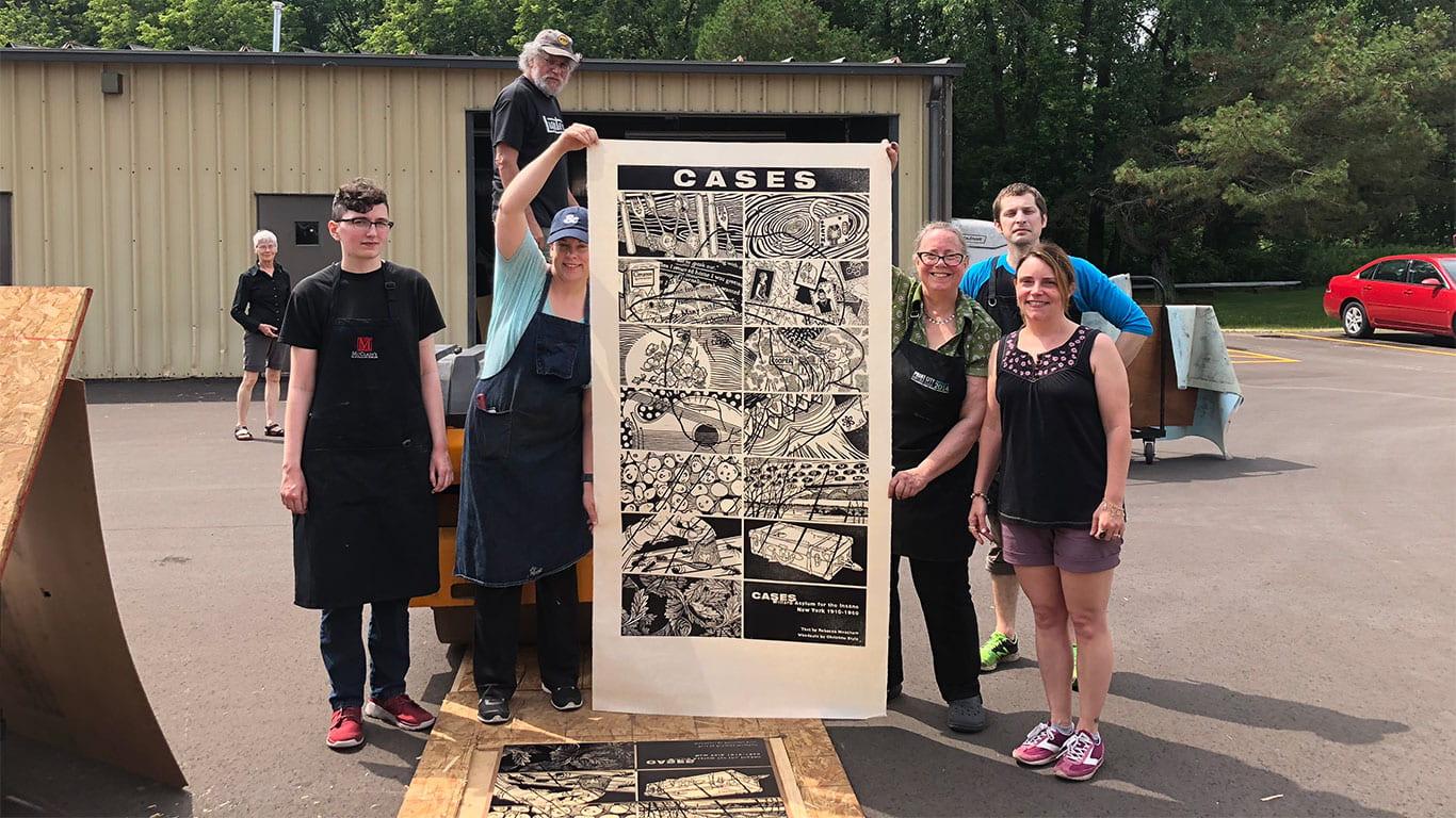 UW-Green Bay News Style's Really Big Print, Meacham's 'Cases'