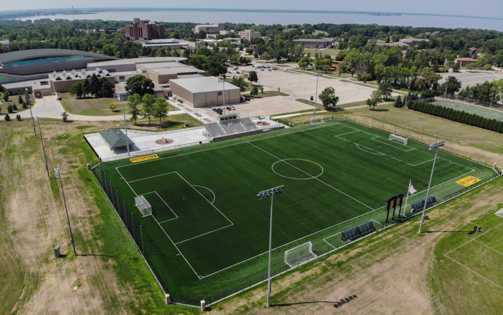 Athletics Field Aerial