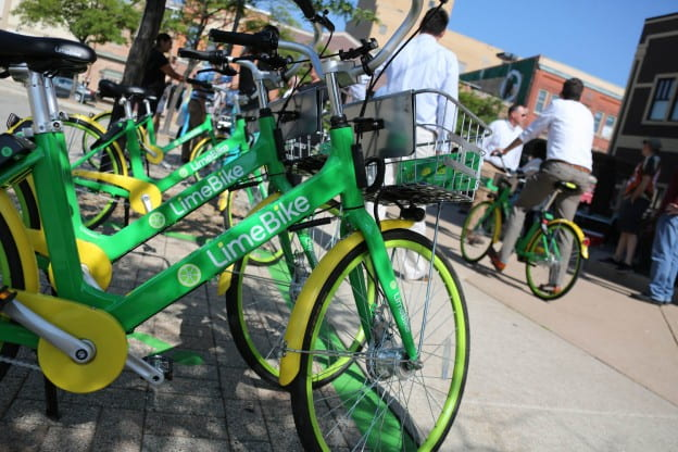 LimeBike Launch Downtown