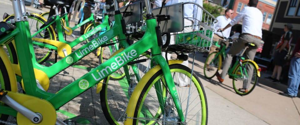 LimeBike Launch Downtown