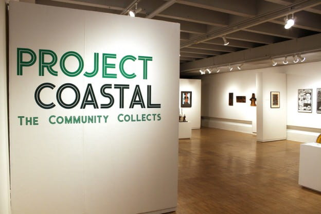 Project Coastal show at the Lawton Gallery