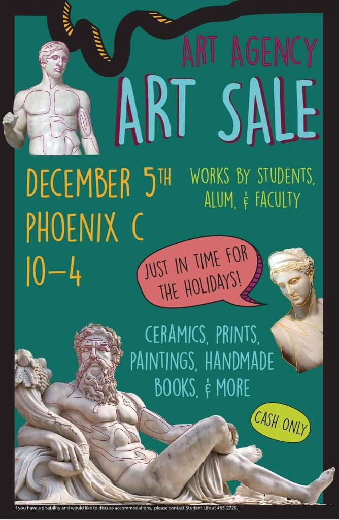 Art Agency Sale - Dec. 5, Phoenix C, 10-4