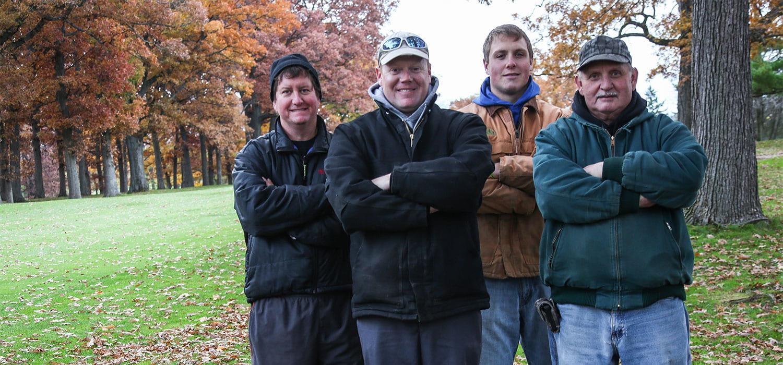 Shorewood Golf Course Grounds Crew
