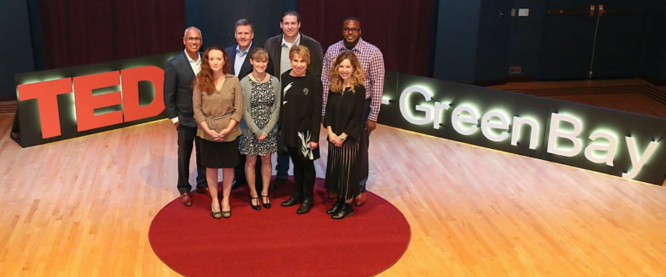 TEDx - UW-Green Bay Speakers