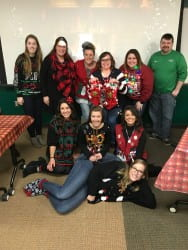 2018 Admissions Holiday Party