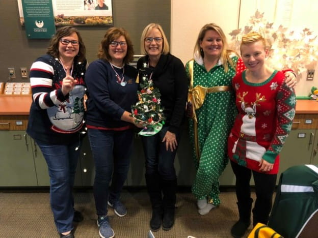 2018 Admissions Tree Decorating Winners
