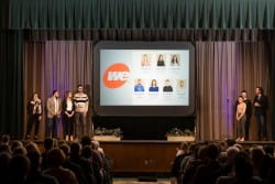 thumbnail_The Commons fall 2018 We Energies We Power the Future Team presenting 2 - Leigh far left