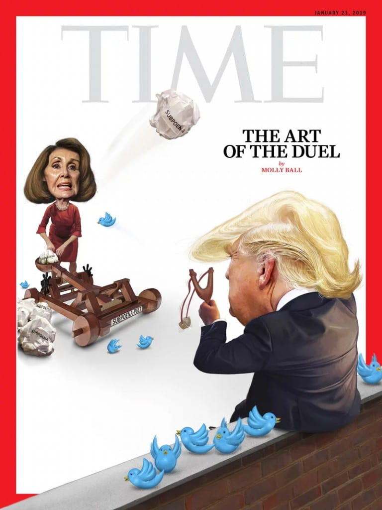 Jan. 21, 2019 TIME Magazine Cover