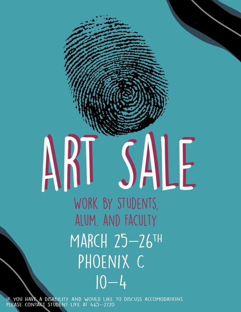 Art Agency Art Sale Poster