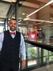 Shawn Anthony Robinson returns to campus as 'Dr. Dyslexia Dude'