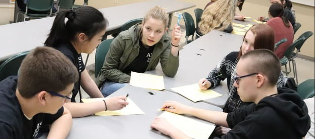 Students in the Academic Competition