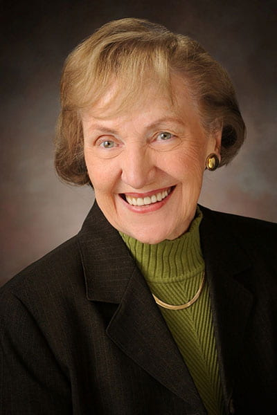 Campus mourns loss of distinguished alumna Patricia Finder-Stone