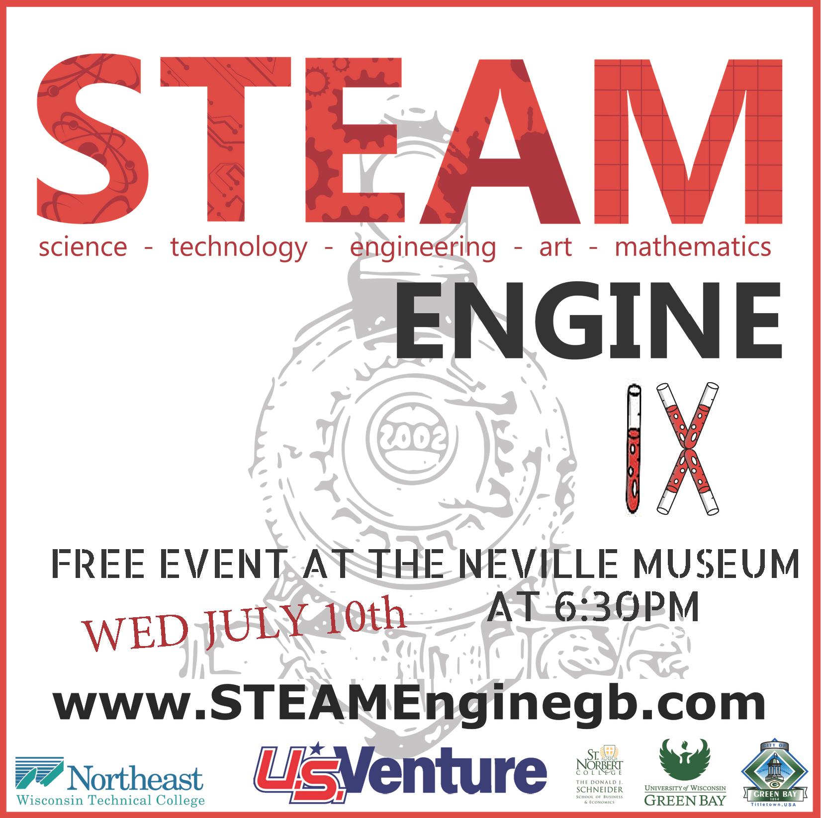 STEAM Engine IX art