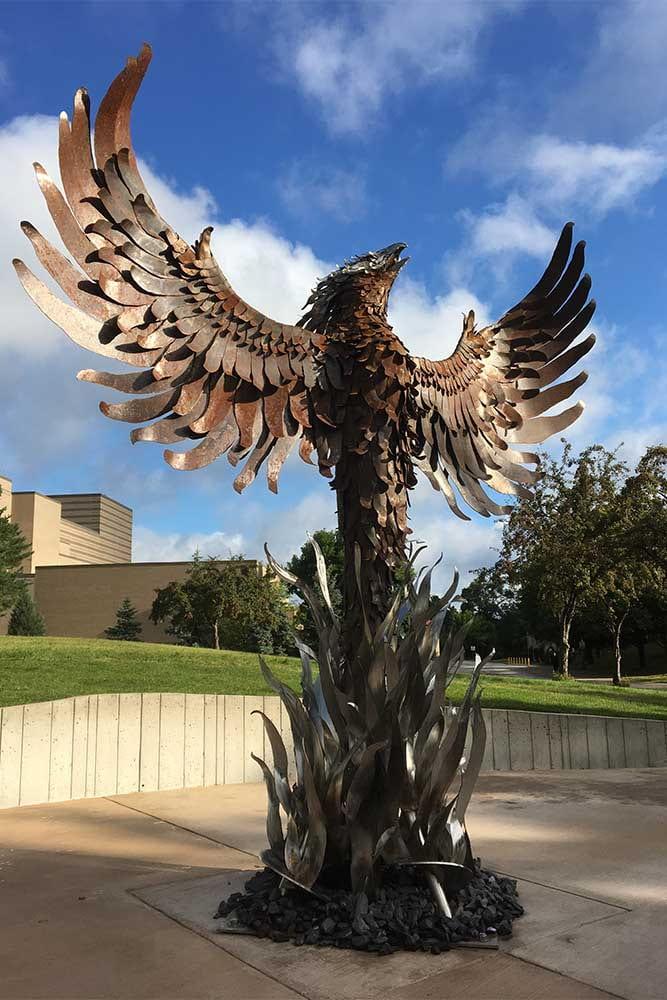 Phoenix Sculpture