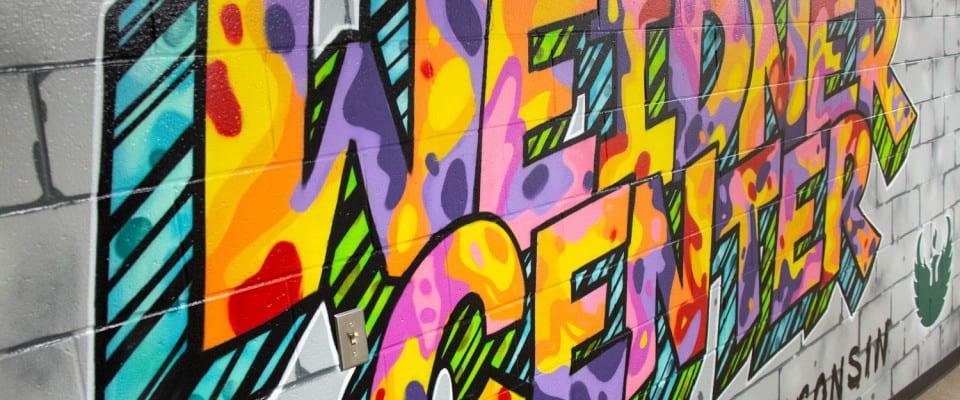 Weidner Center Mural