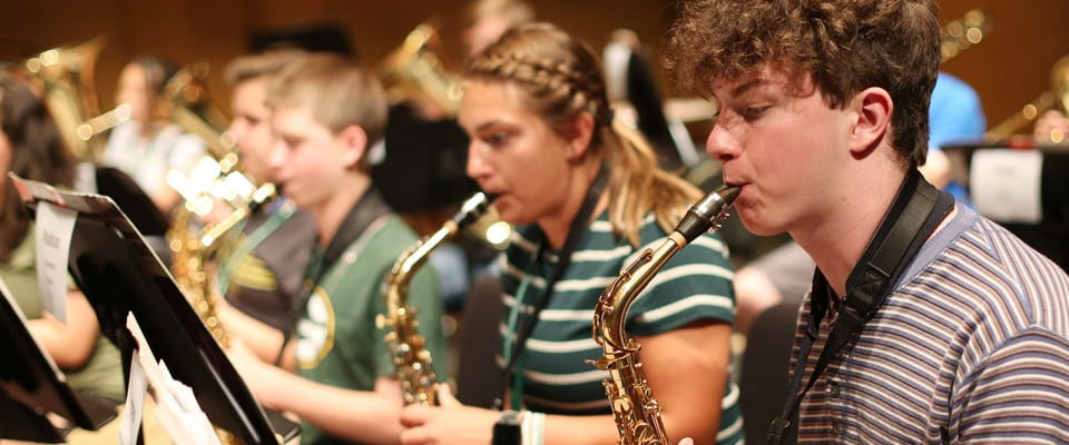 Summer Music Campers