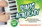 Piano Academy Beginning September
