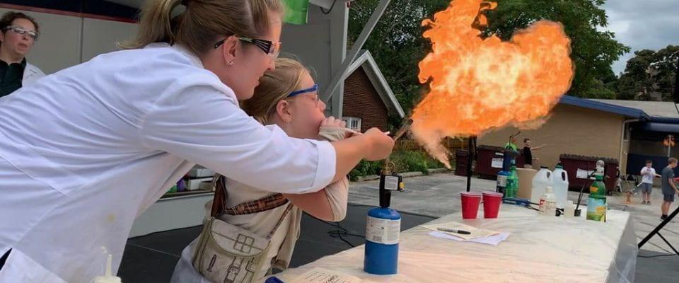 Fireball demo, Cool Chemistry, Sputnikfest 9/7/19