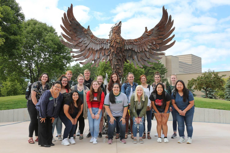 Group by Phoenix Sculpture
