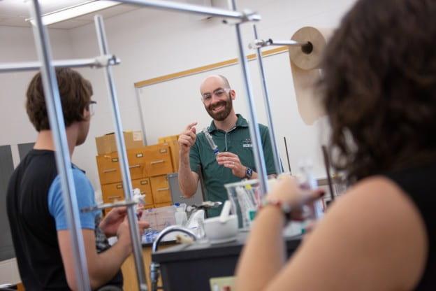 James Kabrhel teaching a class.
