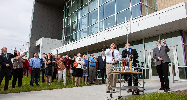 STEM Center Rocket Launch