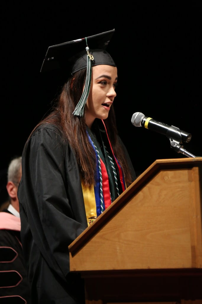 2019 Winter Commencement Student Speaker Hannah Malmberg